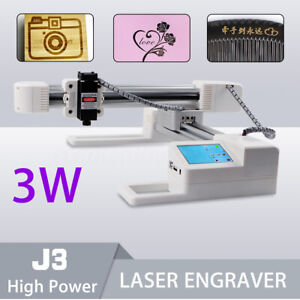 Real 2000mw Usb Laser Engraver Printer Carver Diy Logo Engraving Cutter Machine