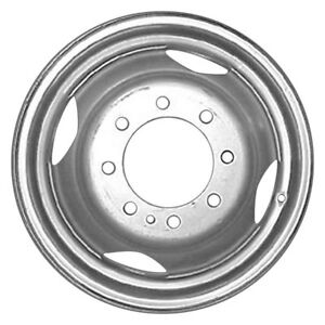 For Dodge Ram 3500 94 99 Cci 16x6 4 Oval hole Silver Steel Factory Wheel Replica