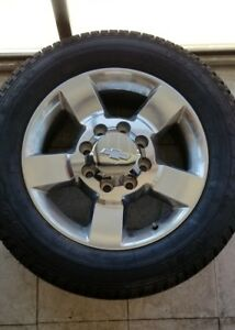 2018 Chevy Hd2500 Hd Factory 20 Wheels Tires Oem Rims 9598088 5503
