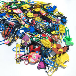 500pcs Lot Different Random Paper Clips Bookmark Diy Office School Supplies Gift