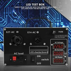 Ac 200 240v Semifinished Led Light Lamp Test Box Checkerboard Volt Current Power