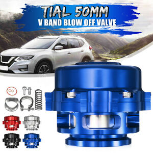 Tial 50mm V Band Blow Off Valve Bov Q Typer With Weld On Aluminum Flange Blue Us