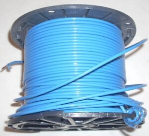 12 Awg Blue Stranded Copper Machine Tool Electrical Wire 9 Lb 5 2 Oz