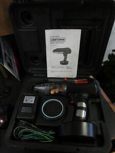 Craftsman Electric Powder Coat Spray Gun Un used In Carry Case Metal Finisher
