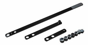Lisle 57900 Serpentine Belt Tool W extensions 13mm 16mm 3 8 1 2 Driver