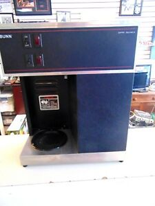 Bunn Vpr Series Coffee Machine Vpr Blk W 2 Coffee Maker Brewer Restaurant