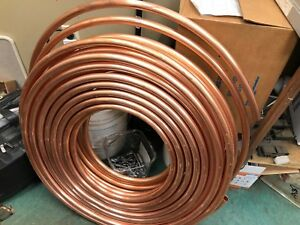 7 8 Od X 88ft Type K Soft Copper Refrigeration Tubing Tube Hvac Pancake Coil