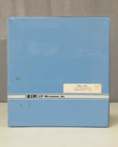 Eip Microwave Frequency Counters Models 535 538 Operation Manual