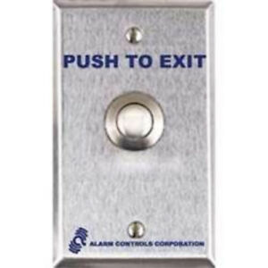 Alarm Controls Ts 12 Vandal Resistant 3 4 Push To Exit Dpdt Momentary Switch