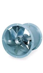 18 Direct Drive Tubeaxial Fan 115vac Dayton 4tm83 Comes With Motor Attached