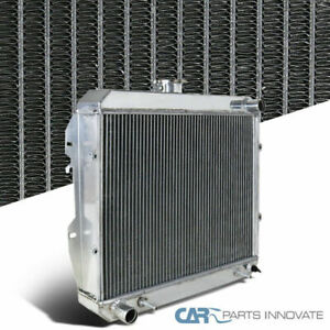 Fit Toyota 88 95 Pickup 4runners V6 3 Row Core Aluminum Cooling Racing Radiator