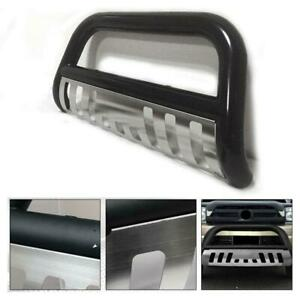 3 Black Bull Bar Front Bumper Grille Guard For 2005 2015 Toyota Tacoma