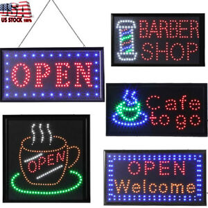 Luminous Open Business Sign Ultra Bright Led Animated Motion On off Switch Neon