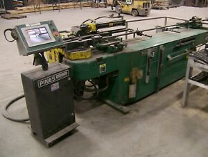 Pines No 2 Hydraulic Rotary Tube And Pipe Bender cnc Max 2 1 2 Sch 40 Pipe