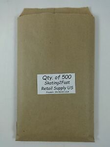 Brown Kraft Paper Merchandise Bag 500 Qty 6 X 9 Retail Shopping Bags
