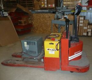 Electric Pallet Jack Walkie Rider Kalmar 8 000 Lb 24v W battery And Charger