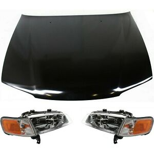 Headlight Kit For 1996 1997 Honda Accord Left And Right 3pc