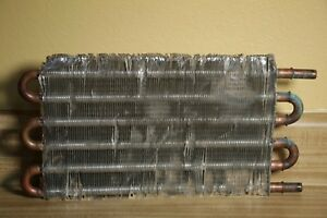 3 8 Radiator Coil Small 14 5 x7 5 Copper Aluminum Water Cooling Condenser