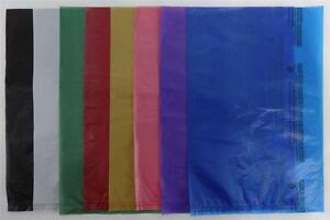 8 5 X 11 High density Bags Plastic Merchandise Variety Of Colors