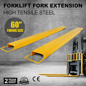60 X 5 9 Forklift Pallet Fork Extensions Pair Lifting Lift Truck Strength