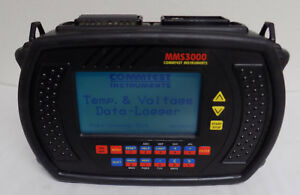 Commtest Mms3000 T6v4 Temperature And Voltage Data Logger With Power Supply