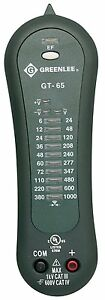 New Greenlee Gt 65 Voltage Continuity Tester 1000vac 1000vdc Cat Iv Gt65