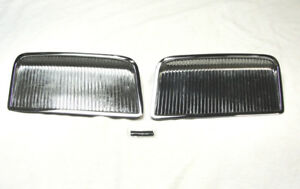 Usa Made 1964 Pontiac Gto Chrome Hood Scoops Scoop Vents Grills Inserts 64