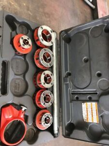 Ridgid 12r Pipe Threader Dies 1 2 To 2 Plumbing Threading Tools 12 r