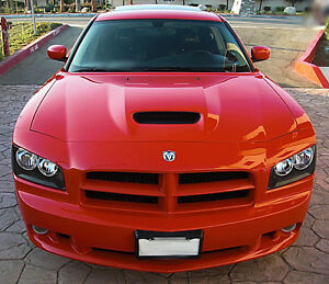 2006 2010 Dodge Charger Srt8 Style Hood Ram Air Functioal 1pc Body Kit