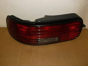 Impala Ss Lh Tail Light Assembly Black 5977447 1994 96 Nos Obsolete Genuine Gm