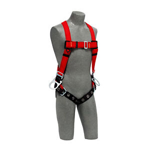 Dbi Sala 1191372 Pro Vest style Positioning Harness For Hot Work Use Small
