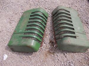 John Deere A Styled Tractor Orignl Jd Front Nose Cone Grill Hood Panel Panels A2