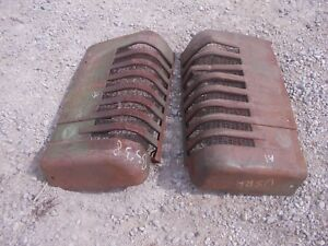 John Deere A Styled Tractor Orignl Jd Front Nose Cone Grill Hood Panel Panels A1