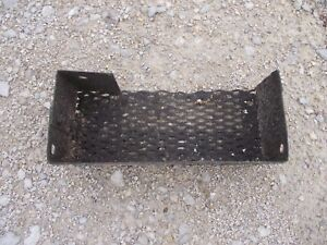 John Deere B Tractor Frame Jd Tool Box Mesh Tray For Frame Rails