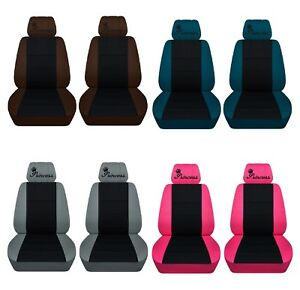 Car Sedan Seat Covers 2009 2012 Toyota Rav4 Front Princess Design 22 Colors Abf