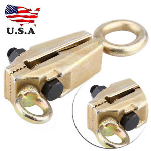 5 Ton Heavy Duty Frame Back Self Tightening Grips Auto Body Repair Pull Clamp