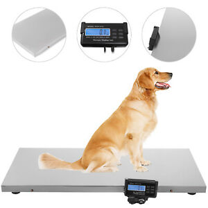 660lb Digital Livestock Vet Scale Hog Pet Dog Sheep Heavy Duty Weight