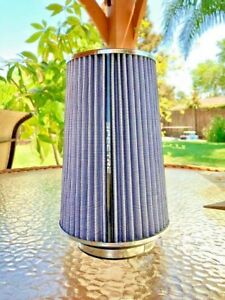 Air Filter 3 3 1 2 4 Intake System White Cone Wash 9738 Spectre 10 Tall
