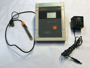 Corning Ph Meter 320 With 476436 3 in 1 Combo Probe Power Adapter