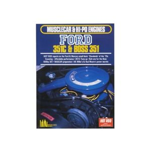 Book Musclecar Hipo Engines Ford 351c Boss 351
