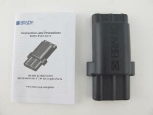 Brady Bmp21 plus batt Lithium ion Rechargeable 7 4v Battery Pack New G6120161