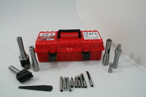 Jet 660220 24 piece Milling Tool Kit For R8 spindle Milling Machines Drill Drift