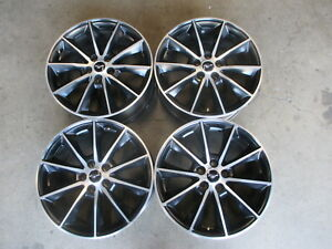Four Used 2017 Ford Mustang Factory 19 Wheels Rims Oem 10032 Fr3v1007aa