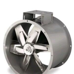 Industrial Exhaust Fan 34 Tubeaxial Aluminum Blade Dayton Model 3c413 New