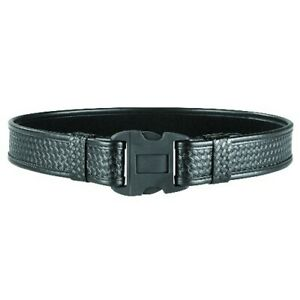 Bianchi Medium 34 40 Waist Black Basketweave 7980 Tri release 2 Duty Belt