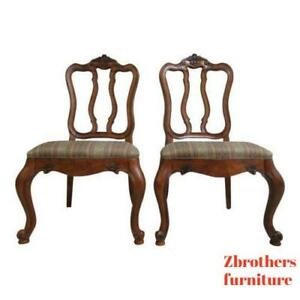 Ethan Allen Tuscany French Carved Dining Room Side Chair A