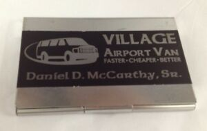 Personalized Business Card Or Dues Card Holders please Read Description
