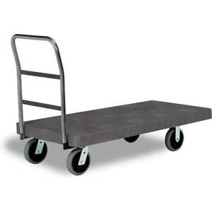 Continental One Handle Utility Platform Truck 24 X 48 5 Casters 5860