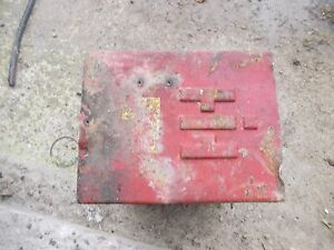 Farmall Ih 450 400 300 350 Tractor Original Lo Ih Battery Box For Under The Seat