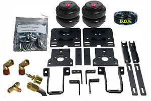 Air Helper Spring Kit Airbagit Bolt On 2005 2010 Ford Super Duty Over Load Level